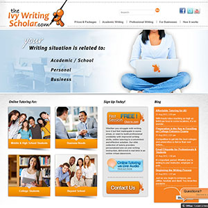 Ivy Writing Scholar Web Design