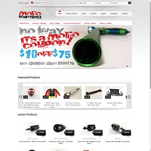 Mofo Paintball Website
