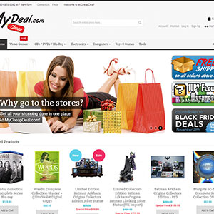 MyCheapDeal Web Design